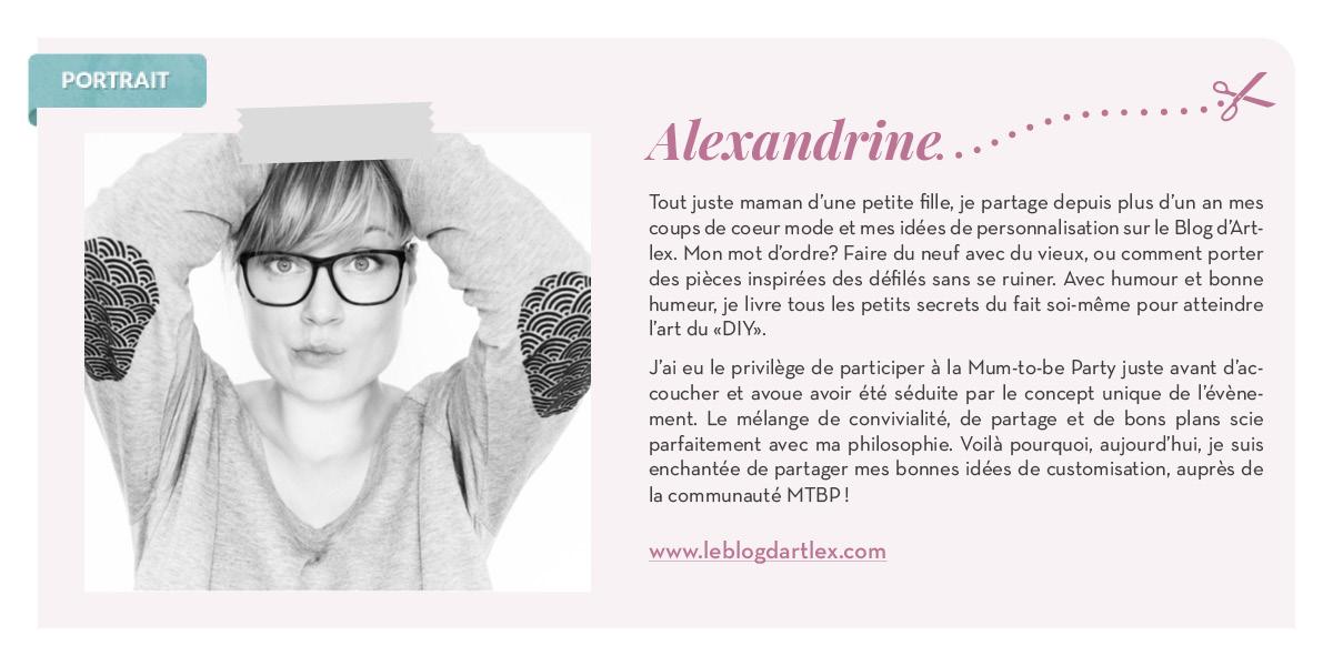 Petit portrait d'Alexandrine