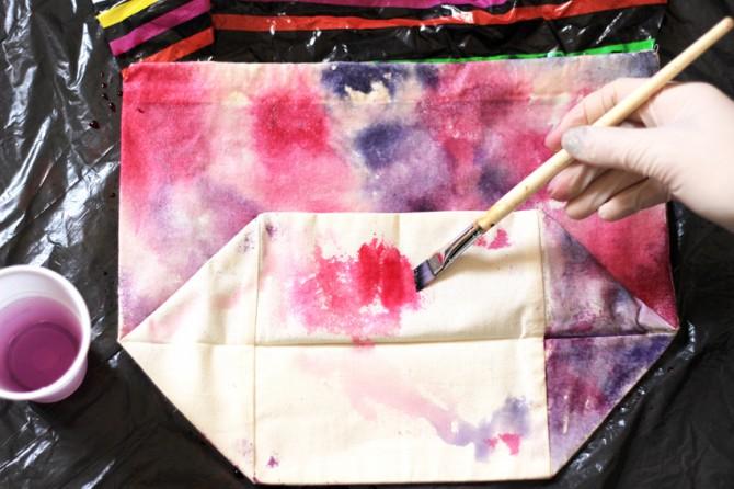 DIY teinture textile 8