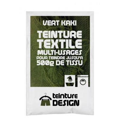 Teinture textile vert kaki