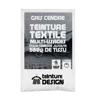 Teinture textile gris clair