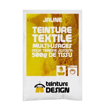 Teinture textile jaune