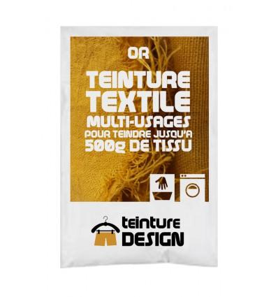 Teinture textile or
