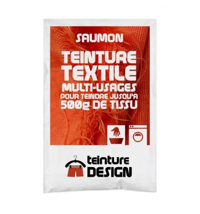 Teinture textile rose saumon