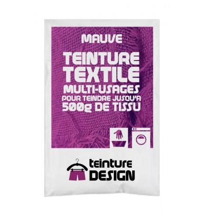 Teinture textile mauve