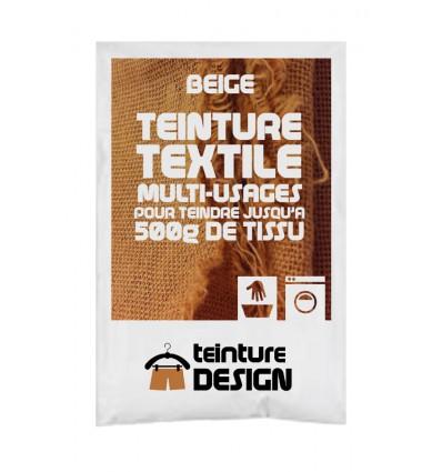 Teinture textile beige