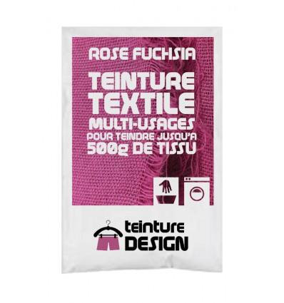 Teinture textile rose fuchsia