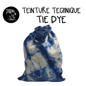 "Teinture technique ""Tie Dye"""
