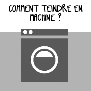 Teindre en machine